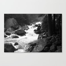 Whiteout Yosemite-1 Canvas Print