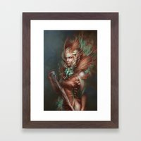 The Sibyl Framed Art Print