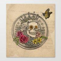 The Eternal Queen Canvas Print
