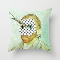 In Vincent´s Face · 1 Throw Pillow