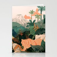 Creature Jungle Stationery Cards