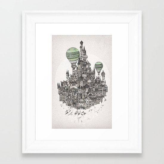 Fennel Framed Art Print