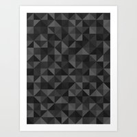 Shapes 003 Ver 3 Art Print