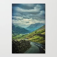 The Lakes Canvas Print