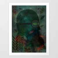 The Ever Curious Botanist Art Print
