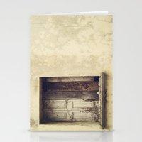 Wood window Stationery Cards