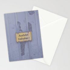 Ausfahrt Stationery Cards