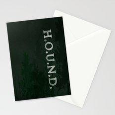 No. 5. H.O.U.N.D. Stationery Cards