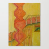 For The Squares: A Party… Canvas Print