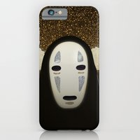 iPhone & iPod Case featuring No-Face Maki-e by Greg Stedman Illustration