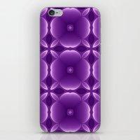 Purple Blossoms iPhone & iPod Skin