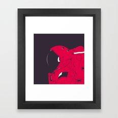GOD IS AN ASTRONAUT // R Framed Art Print