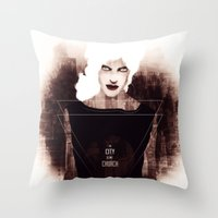 The City is my Church Throw Pillow