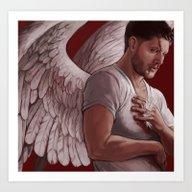 Michael. Dean Winchester Art Print