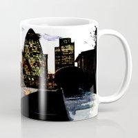 Spiderman in London Close up Mug