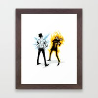 You must be kidding me Framed Art Print