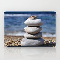 iPad Case featuring Pyramid Of Stones by Lo Coco Agostino