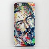 Ernest Hemingway iPhone & iPod Skin