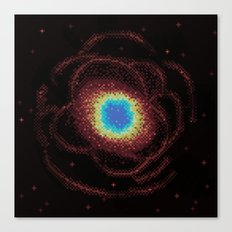 Ring Galaxy (8bit) Canvas Print