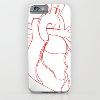 Anatomical heart iPhone 6 Slim Case