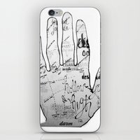 Palmistry iPhone & iPod Skin