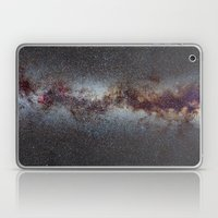 The Milky Way from Scorpio Antares and Sagitarius to North America Nebula in Cygnus Laptop & iPad Skin