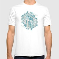 Memory Palace Mens Fitted Tee White SMALL