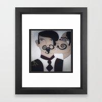 More lovely men..... Framed Art Print