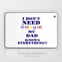 Google  DAD Laptop & iPad Skin