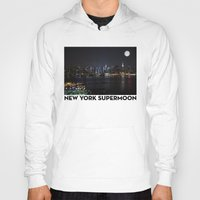 New York Supermoon Hoody
