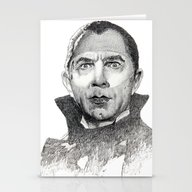 Dracula Bela Lugosi Stationery Cards