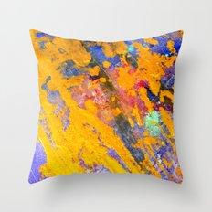 ORANGE JUICE Throw Pillow