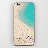 beach love III - Nazare iPhone & iPod Skin