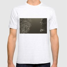 under night Mens Fitted Tee Ash Grey SMALL