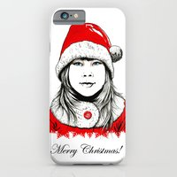 iPhone & iPod Case featuring Snow-maiden by MARIA BOZINA - PRINT