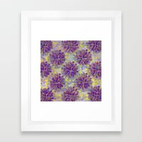 Abstract Cactus Framed Art Print