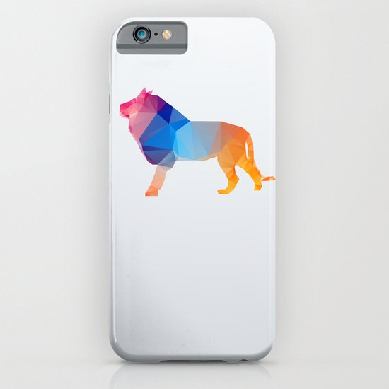 Glass Animal Series - Lion iPhone & iPod Case