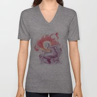 Somewhere In Space Unisex V-Neck