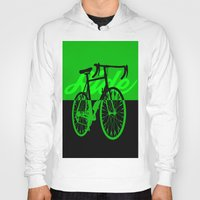 Bicycle Ride Silhouette … Hoody