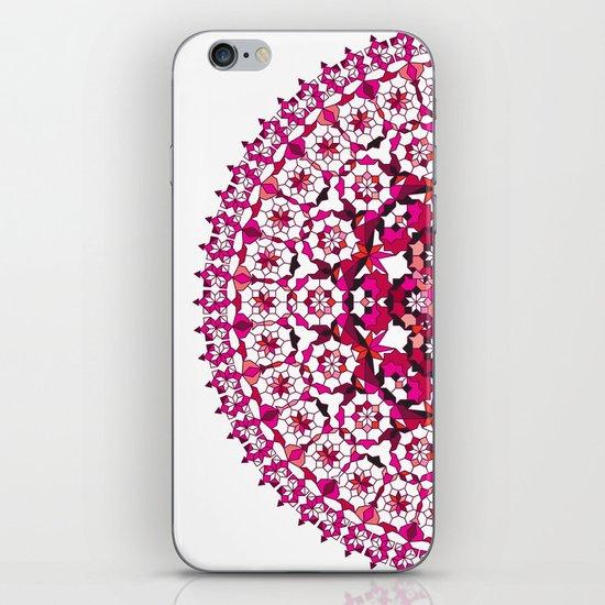 Khatem Rosette 002   Magenta iPhone & iPod Skin