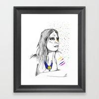 Colored Imagination Framed Art Print