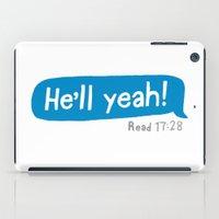 He'll Yeah! iPad Case