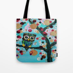 :: Gemmy Owl Loves Jewel Trees :: Tote Bag