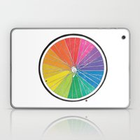 Color Wheel (Society6 Edition) Laptop & iPad Skin