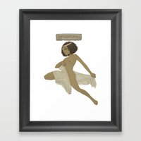 Historical Pin-Up - 23rd… Framed Art Print