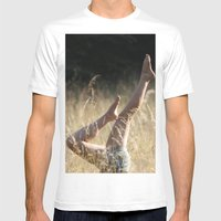 Fromwhereihandstand Mens Fitted Tee White SMALL