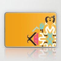 Orange Arabic Laptop & iPad Skin