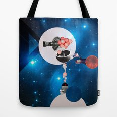 Space Flight Tote Bag