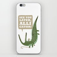 See You Later, Alligator… iPhone & iPod Skin