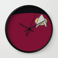Star Trek: The Next Gene… Wall Clock